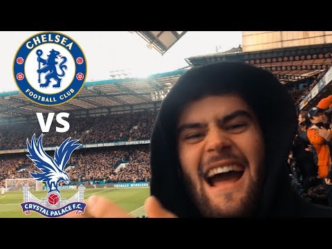 CHELSEA 2 - 0 CRYSTAL PALACE MATCH VLOG || PULISIC ON FIRE