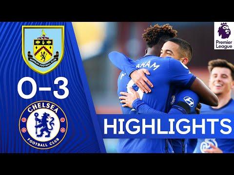 Burnley 0-3 Chelsea | Ziyech Grabs a Goal & Assist on First League Start | Premier League Highlights