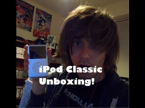 ipod classic - Add Me On Twitter - twitter.com/solidsnake1211 ************************************************************** Unboxing of the Apple iPod Classic 160GB in Sil...