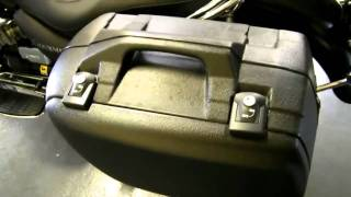 7. Moto Guzzi Koffersatz 40L: California Classic Zubehör neu 2011