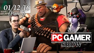 The PC Gamer Show (part 1) — Special guests from Firaxis Games