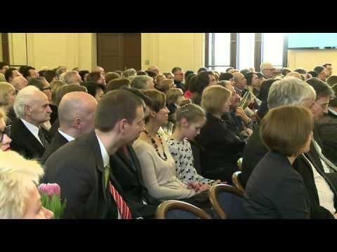LR Seimo Pirmininko pirmojo pavaduotojo Vydo Gedvilo sveikinimo kalba