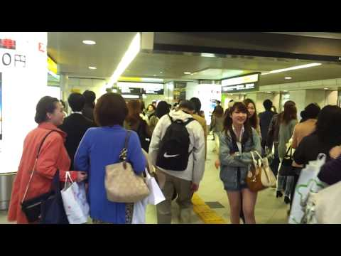 Japan - Today is March 29th, 2013. I headed east to Osaka. It's only a 25 minute train ride from Kobe. I wen to Century 21 to look at an apartment. The realtor only ...