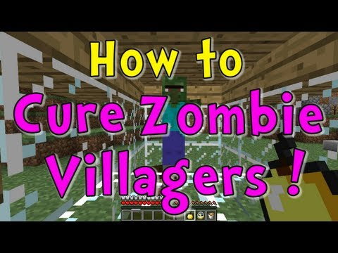 Minecraft Quick Tips – How to Cure Zombie Villagers