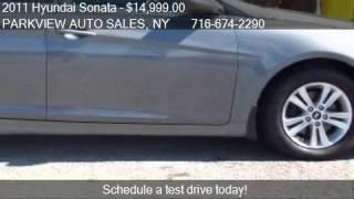2011 Hyundai Sonata GLS Auto - for sale in ELMA, NY 14059