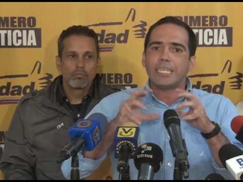"""Edinson Ferrer: """"Nuestra lucha es pacífica y jamás aprobaremos hechos violentos"""""""