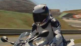 3. New BMW S 1000 RR 2010 Riding on the racetrack