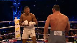 Video Round of 2017? Anthony Joshua vs Wladimir Klitschko - Round 5 MP3, 3GP, MP4, WEBM, AVI, FLV Oktober 2018