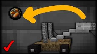 �Como Hacer Una Catapulta Que Funciona En Minecraft PE 1.1  Catapulta Sin Mods Ni Addons