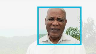 Barbados' Minister of Environment and Drainage Dr. Denis Lowe, speaks about the importance of the upcoming 3rd United...
