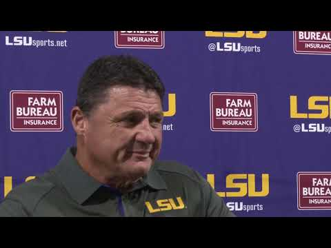 FULL PRESSER | Coach O on Devin White billboards, Alabama scouting reports and more