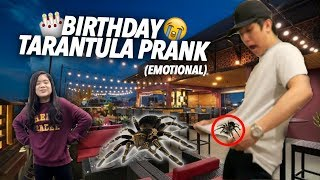Video TARANTULA PRANK ON BIRTHDAY!! | Ranz and Niana MP3, 3GP, MP4, WEBM, AVI, FLV Mei 2019