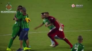 Gols e imagens do acesso do Guarani para série B. Campeonato Brasileiro série C 2016 Quartas de final em 08/10/2016