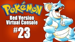 Pokemon Red Virtual Console - Episode 23: TAKING ON KOGA by SkulShurtugalTCG