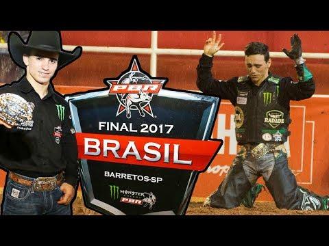 José Vitor Leme  Campeão da PBR Brasil  Barretos 2017