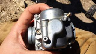 7. 09 Suzuki Dr z 125 pilot jet carburetor problem FIX