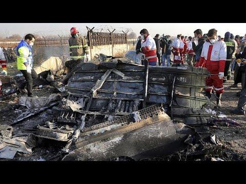 Iran: Schuld eingestanden für Flugzeugabsturz mit 176 ...