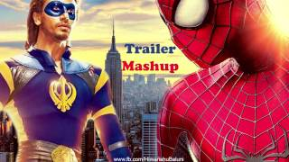 Nonton A Flying Jatt   The Amazing Spider Man   Trailer Mashup Film Subtitle Indonesia Streaming Movie Download