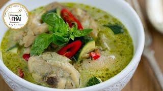 Cómo hacer curry verde con pollo
