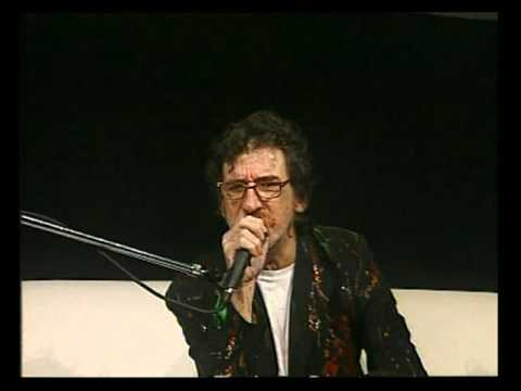 Charly García video Improvisando letra - Botafogo TV 2005 (CM)
