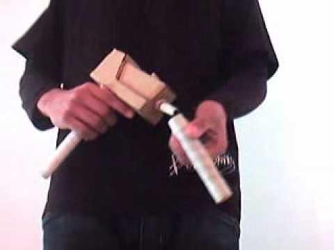 Armas de papelao