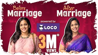 Video Before Marriage vs After Marriage - Ft. Loco || Mahathalli MP3, 3GP, MP4, WEBM, AVI, FLV September 2018