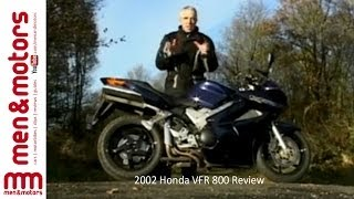 4. 2002 Honda VFR 800 Review