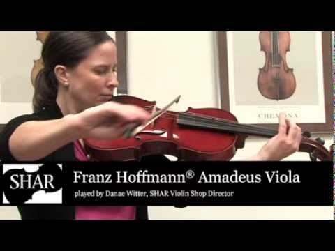 Video - Blemished Franz Hoffmann® Amadeus Viola - Instrument Only - 14 inch | BUHA100 14
