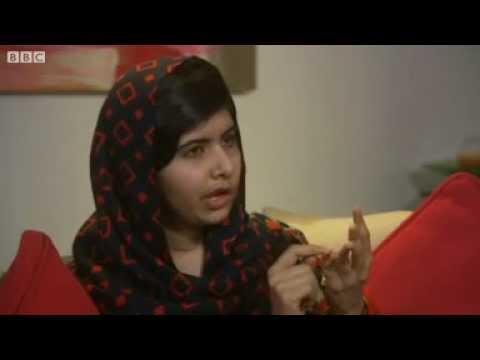 Malala Yousafzai wants all children to have education