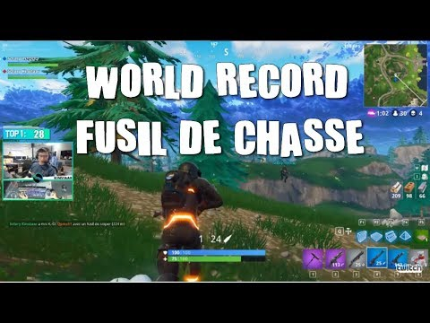 FUSIL DE CHASSE : PLUS LONG SHOT DU MONDE PAR KIINSTAR, BEST OF FORNITE FR #01