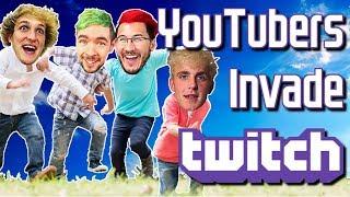 Video The Youtube Invasion of Twitch MP3, 3GP, MP4, WEBM, AVI, FLV Maret 2019