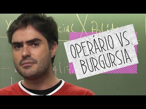 Dica de História - Burguesia Vs Proletariado