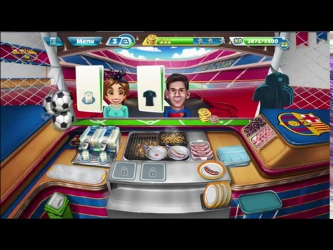 Cooking Fever: Barcelona Sports Bar Levels 6-8