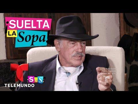 Notícias dos famosos - Andrés García contó de quién de sus mujeres se enamoró  Suelta La Sopa  Entretenimiento