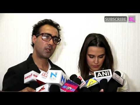 Neha Dhupia and Ranvir Shorey | Special Screening