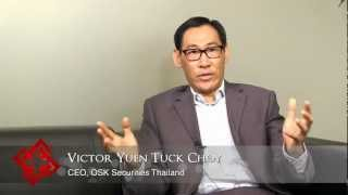 OSK Securities Thailand CEO Victor Yuen Tuck Choy On Thailand's Capital Markets