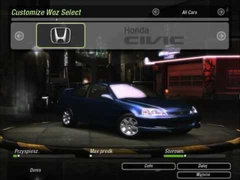 JDM Tuning Honda Civic NFS Underground 2