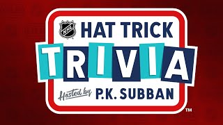 Hat Trick Trivia: Episode 12 | Hosted by P.K. Subban by NHL