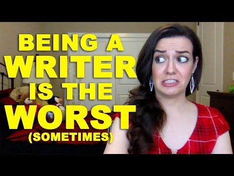 10 Worst Things About Being a Writer (+ big news!)