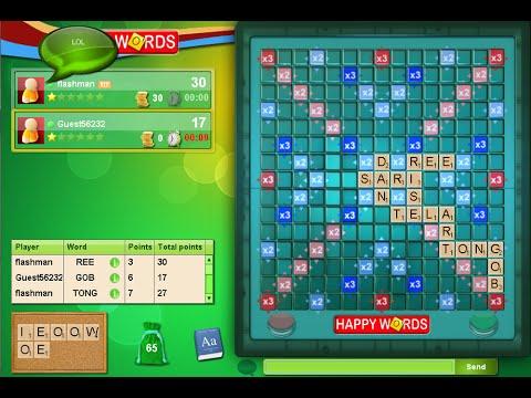 The best Board Games Online - Monopoli, Happy Words (like scrabble)