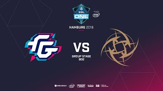 NiP vs Forward Gaming, ESL  One Hamburg, bo2, game 2 [Maelstorm & Jam]