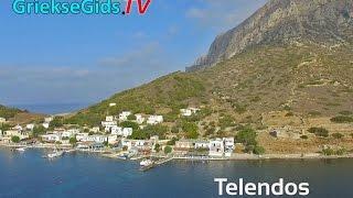 Dronevideo / Luchtvideo eiland Telendos - GriekseGids.TV
