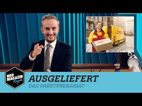 Ausgeliefert - Das Paketprekariat | NEO MAGAZIN ROYALE mit Jan Böhmermann - ZDFneo