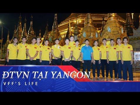 ĐTVN THĂM CHÙA VÀNG SHWEDAGON - MYANMAR
