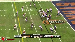 Brock Vereen vs Syracuse (2013)