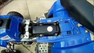 9. Yamaha Banshee Air Filter Cleaning how to