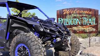 5. Yamaha YXZ1000R SS on the Rubicon Trail