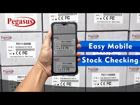 Easy Stock Checking and Barcode datacollector - SF-datacollector