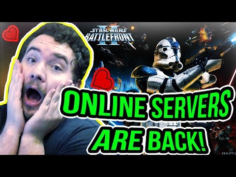 The Original Battlefront 2 = ❤️! Online Multiplayer Servers BACK! | Star Wars Battlefront 2 (2005)
