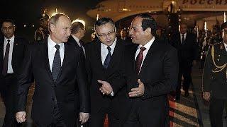 Putin Mısır'dan Batı'ya yüklendi